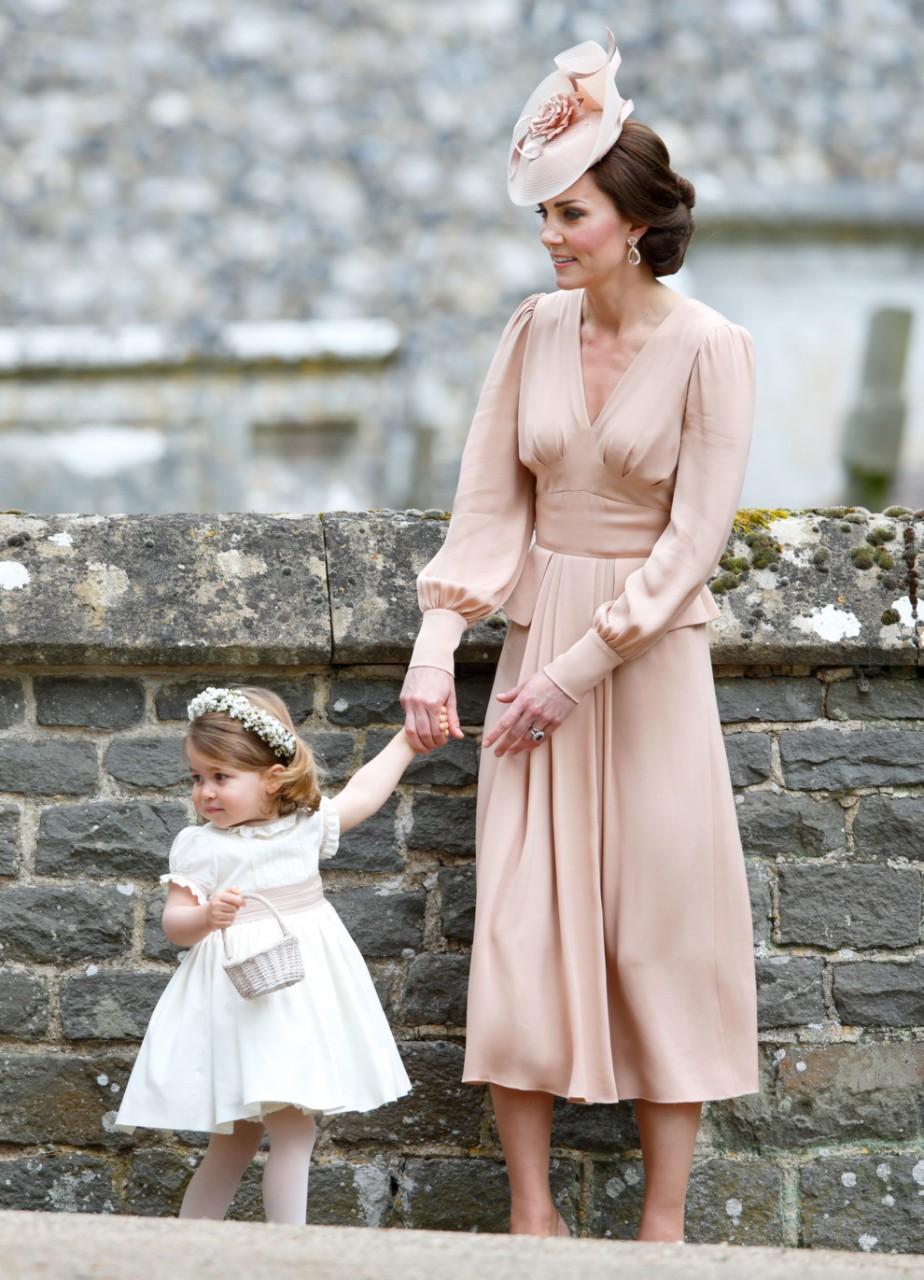 Герцогиня Кэтрин на свадьбе сестры Пиппы