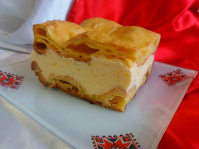 Торт «Карпатка» с заварным кремом