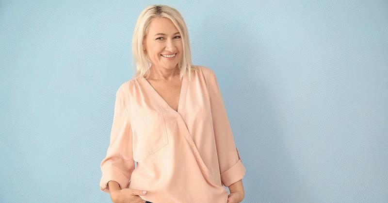 Цветовая гамма гардероба зрелой женщины