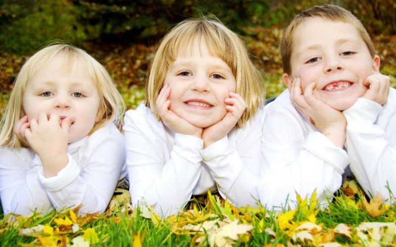 Как выжить с тремя детьми