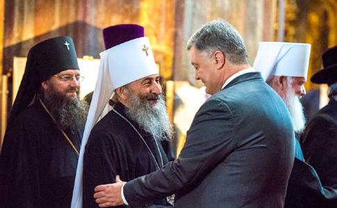 Порошенко встретится с епископами УПЦ МП