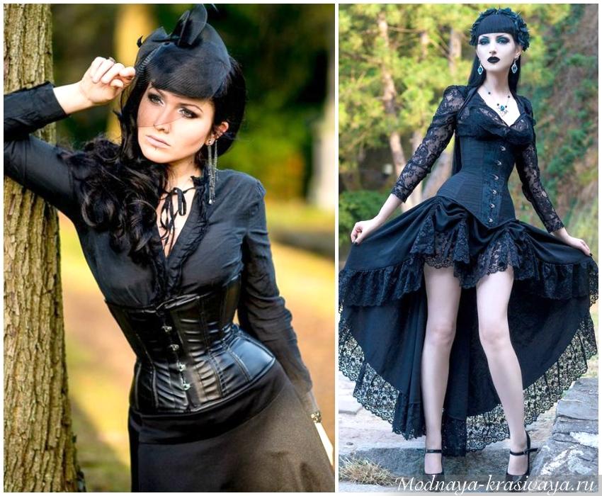 Готический стиль в одежде: фетиш смерти или очарование средневековья