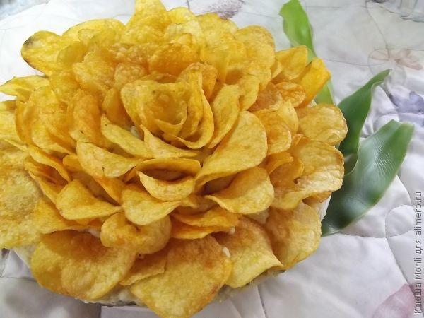 салат Роза
