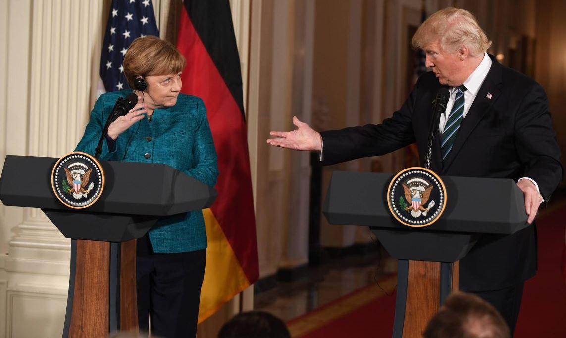 У США к Германии появились претензии как к Китаю