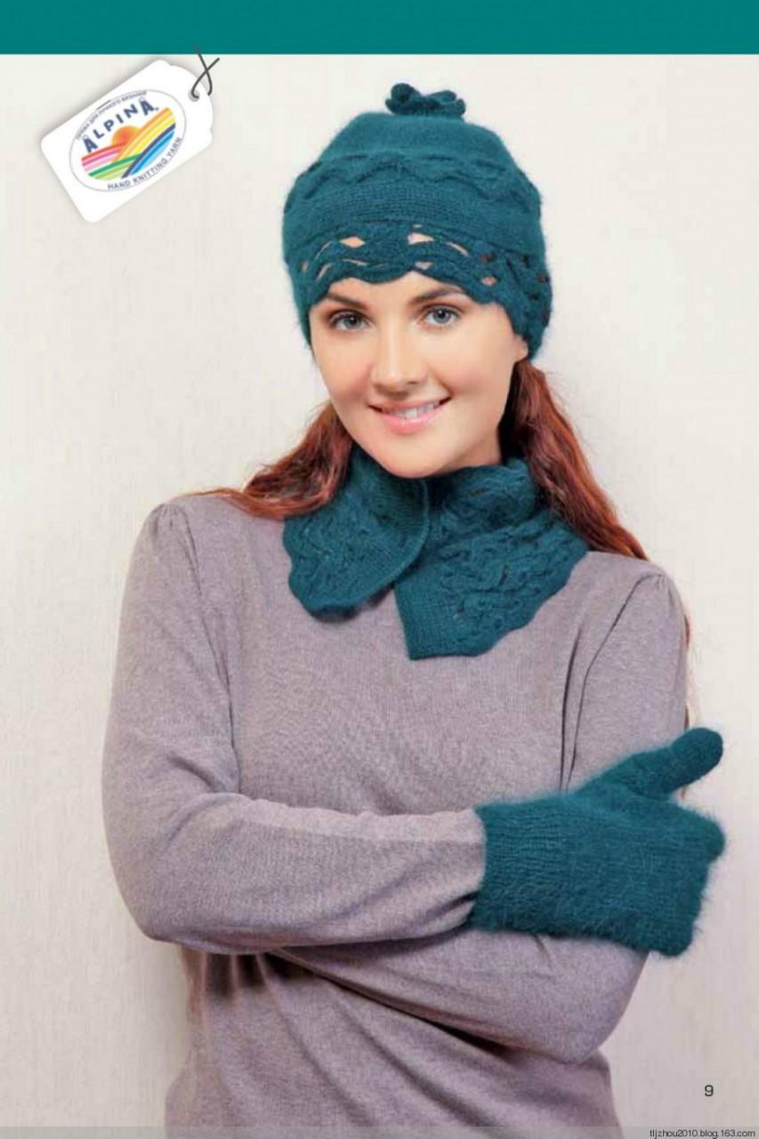 Журнал по вязанию шапки 2014