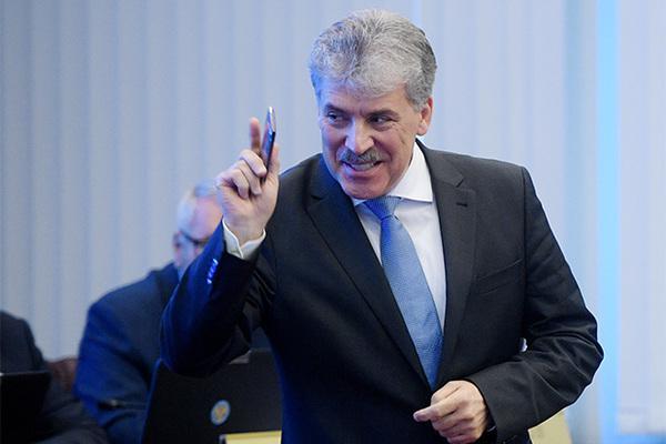 Павла Грудинина ЦИК зарегистрировала кандидатом в президенты России
