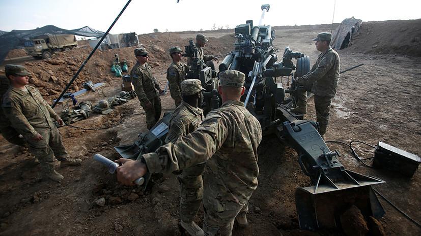 """База США Эт-Танф на сирийско-иорданской границе с """"живым щитом"""" из беженцев"""