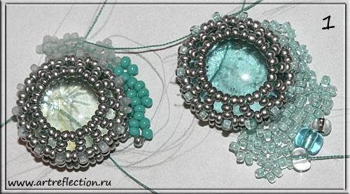 Плетение украшения (колье) в