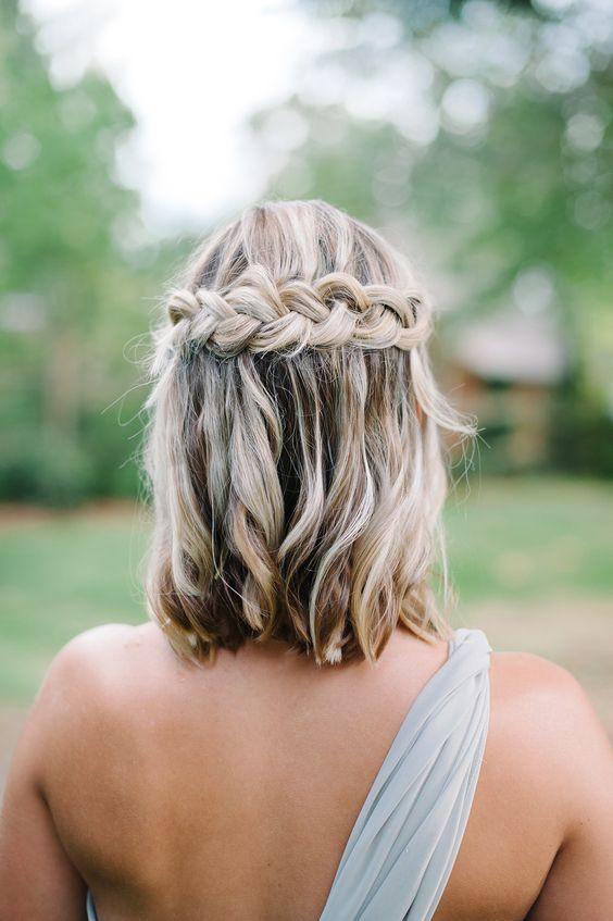 косы на удлиненное каре