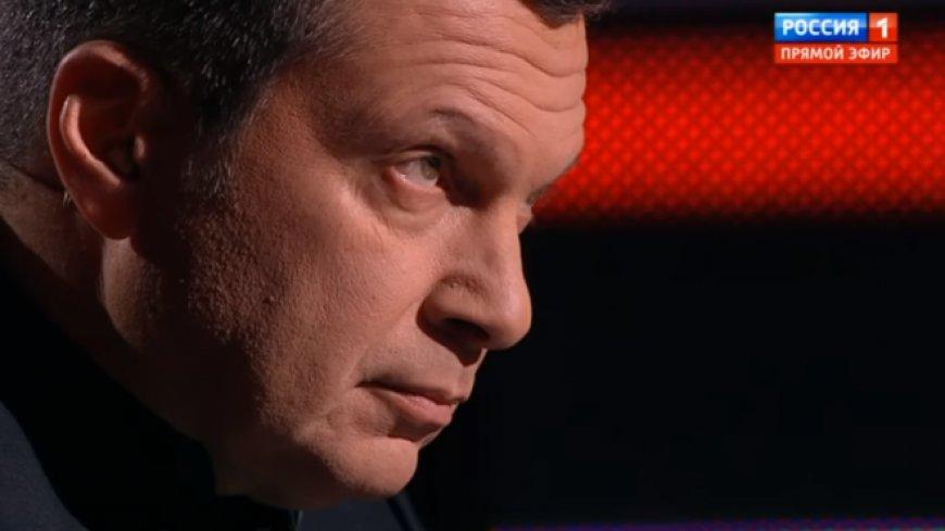 Соловьев о показательных данных: ненависть к русским на Западе запредельна...