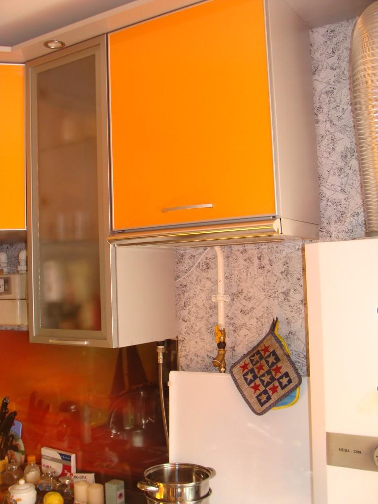 расположение газовой колонки на кухне каждое