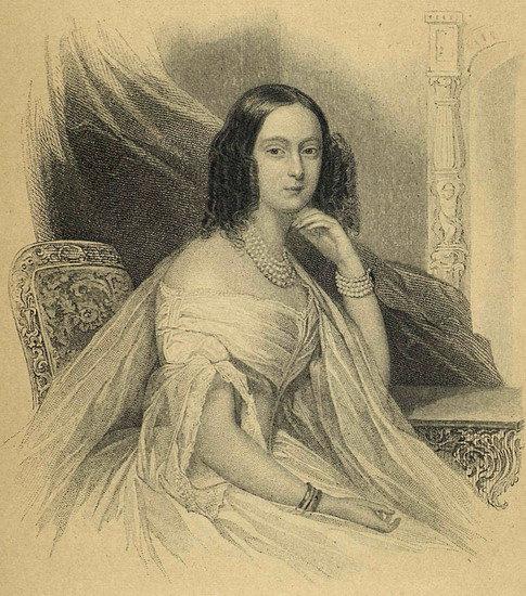 Мария Гессенская в 1841 году