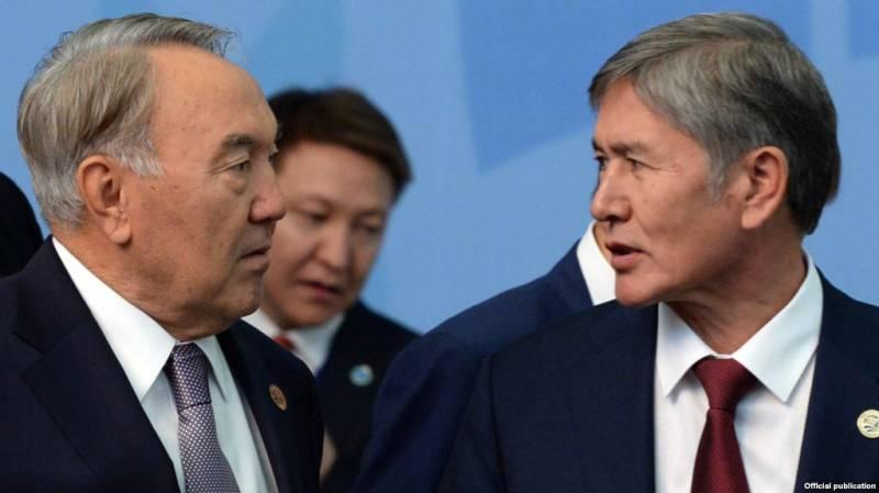 На глазах России Назарбаев и Атамбаев разругались на сто миллионов долларов