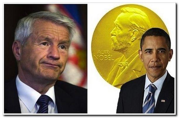 """Нобелевский комитет """"вежливо"""" просит Обаму вернуть премию мира"""