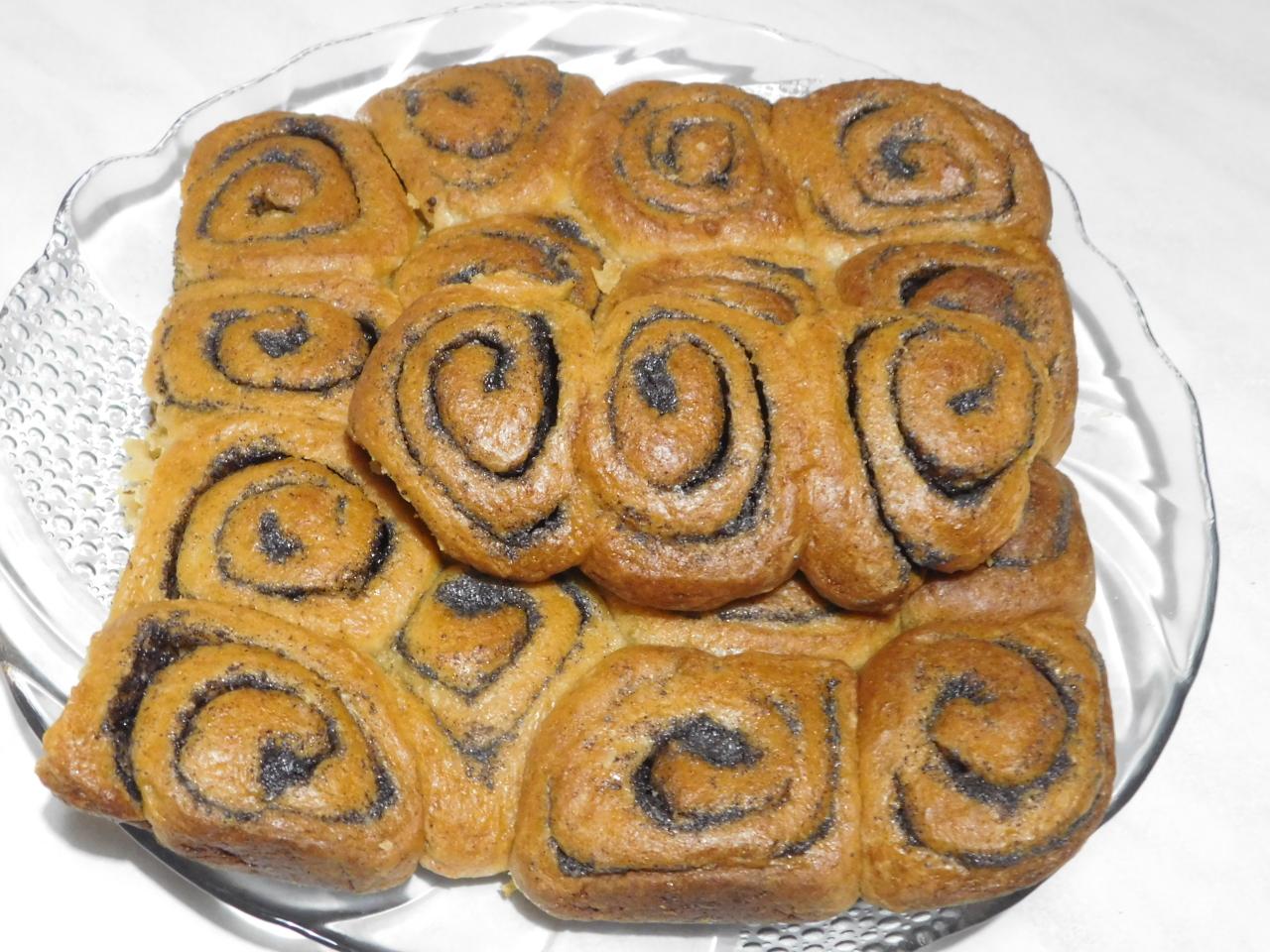Творожные булочки с маком- Похвастушка