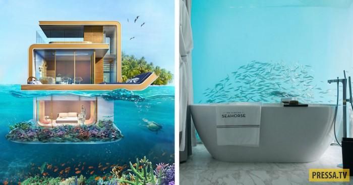 Новая реальность туризма: великолепные подводные отели в Дубае