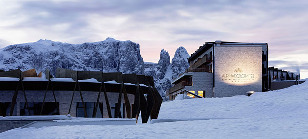 Отель в Доломитовых Альпах