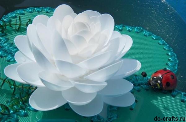 Водяные лилии своими руками