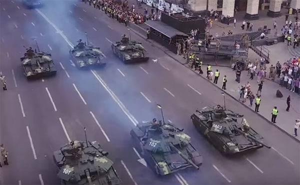 Танки ВСУ на Крещатике - пролог к признанию независимости Донбасса?