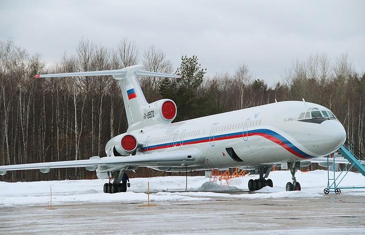 Минобороны назвало основную версию крушения Ту-154 в Черном море