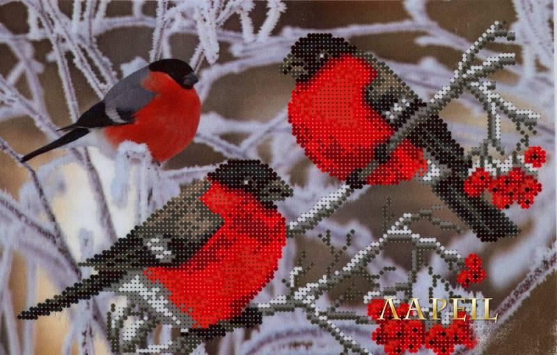 Вышивка снегири матренин посад
