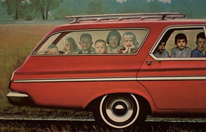 Эти фотографии 60-х годов доказывают, что универсалы были самыми крутыми тачками 60-е годы, автомобили, легковой автомобиль, старые машины, старые фото, сша, универсал, фургон