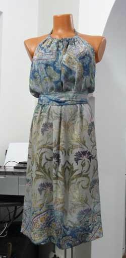 Шьем красивое платье-фартук буквально за час! Видео мастер-класс
