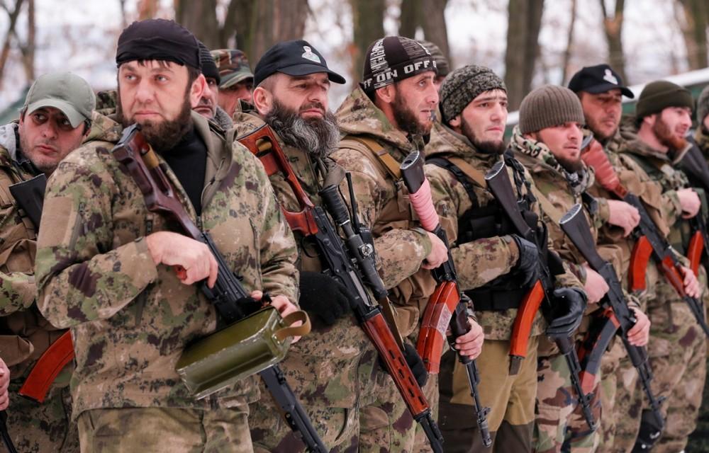 """Ночной кошмар украинских силовиков отдельный чеченский батальон """"Смерть"""""""