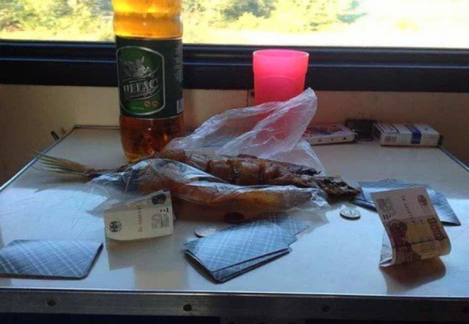 Рыбка, пиво и карты