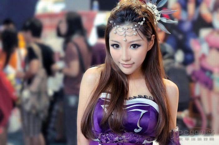 зиму самие красивие китайский девушки наш взгляд, Флис