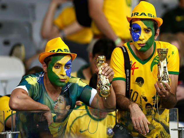 Бразильских болельщиков увол…