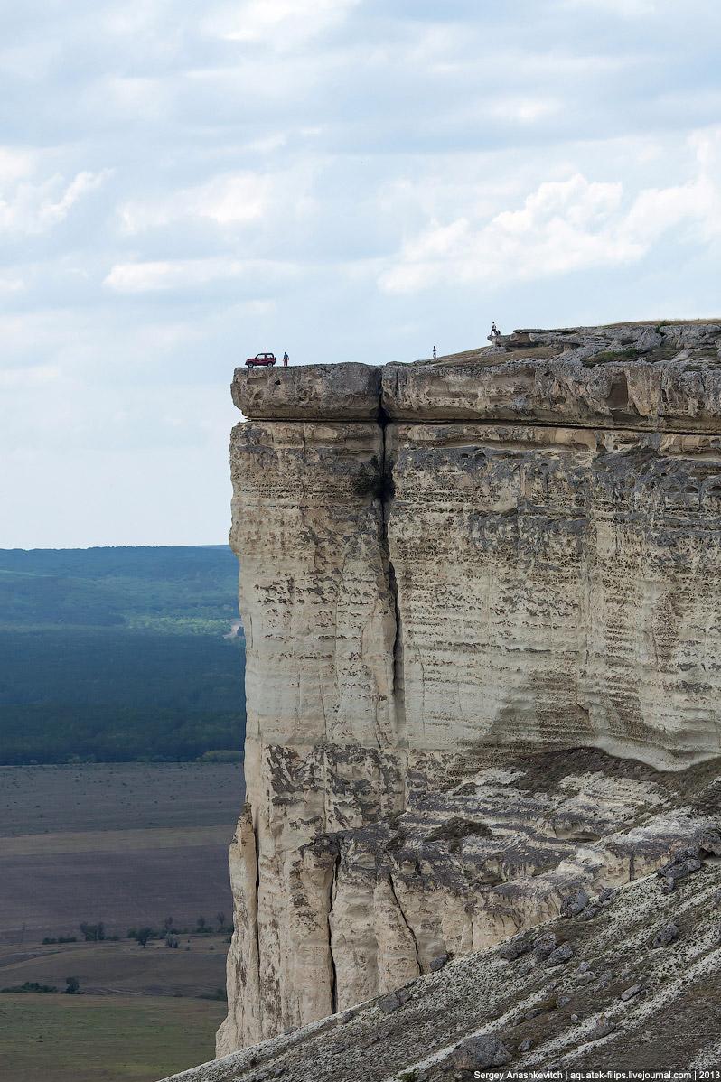 Фабрика безумных видов. Белая скала в Крыму