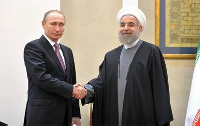 Путин и Рухани обсудили ситуацию вокруг иранской ядерной программы