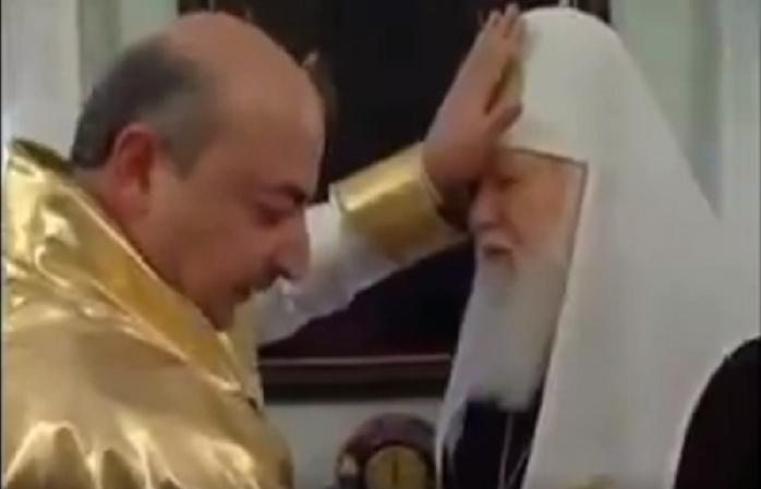 """Армянский колдун Гагик """"благословил"""" Денисенко на Царство"""