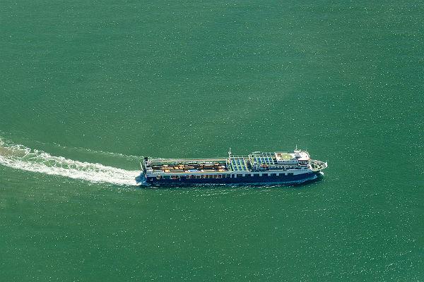 В Керченском проливе досрочно открыли судоходство