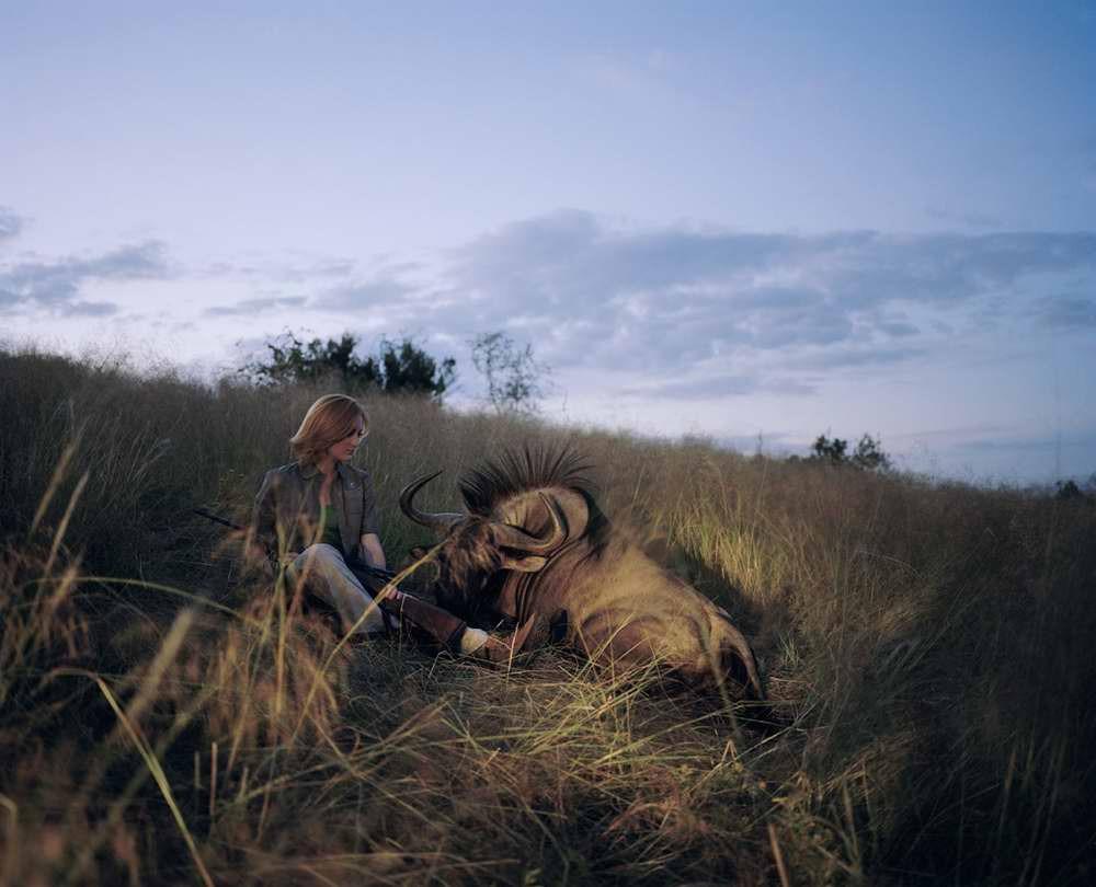 davidchancellor05 Провокационный фотопроект «Охотники и их добыча»