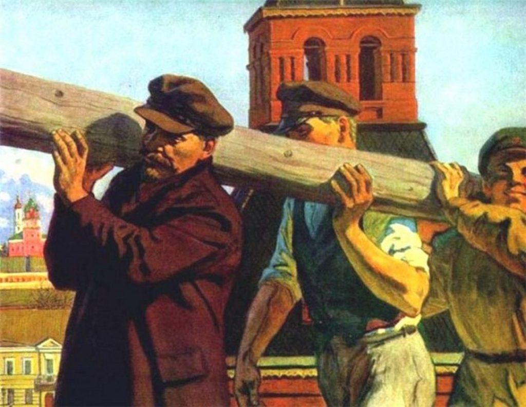 Нам Ленин строить и жить запрещает?