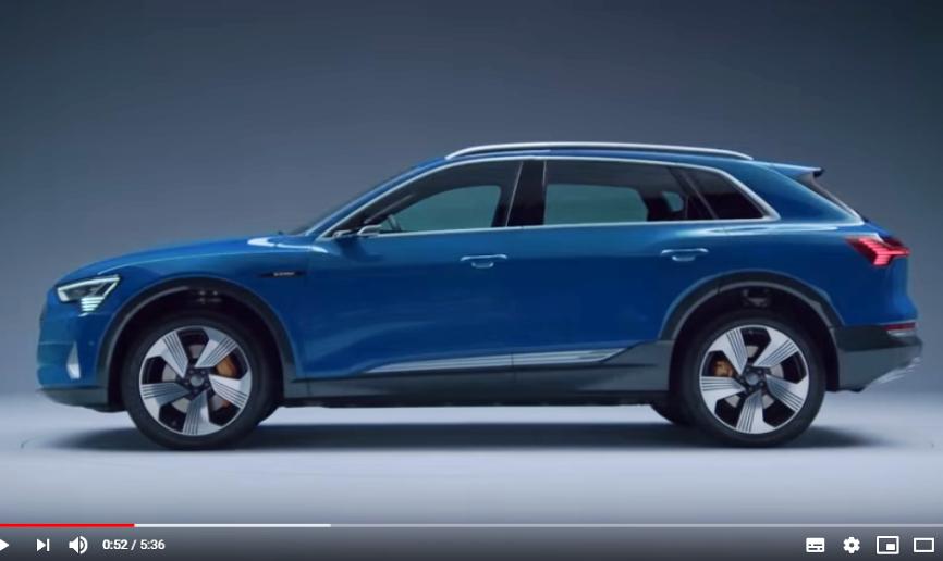 Выход кроссовера Audi e-tron отложили на месяц из-за проблем с ПО
