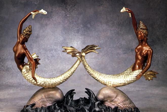 Скульптуры Эрте – гения ар-деко