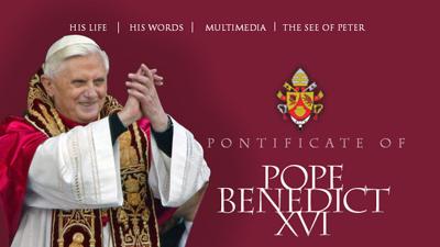 Папа Римский Бенедикт XVI за…