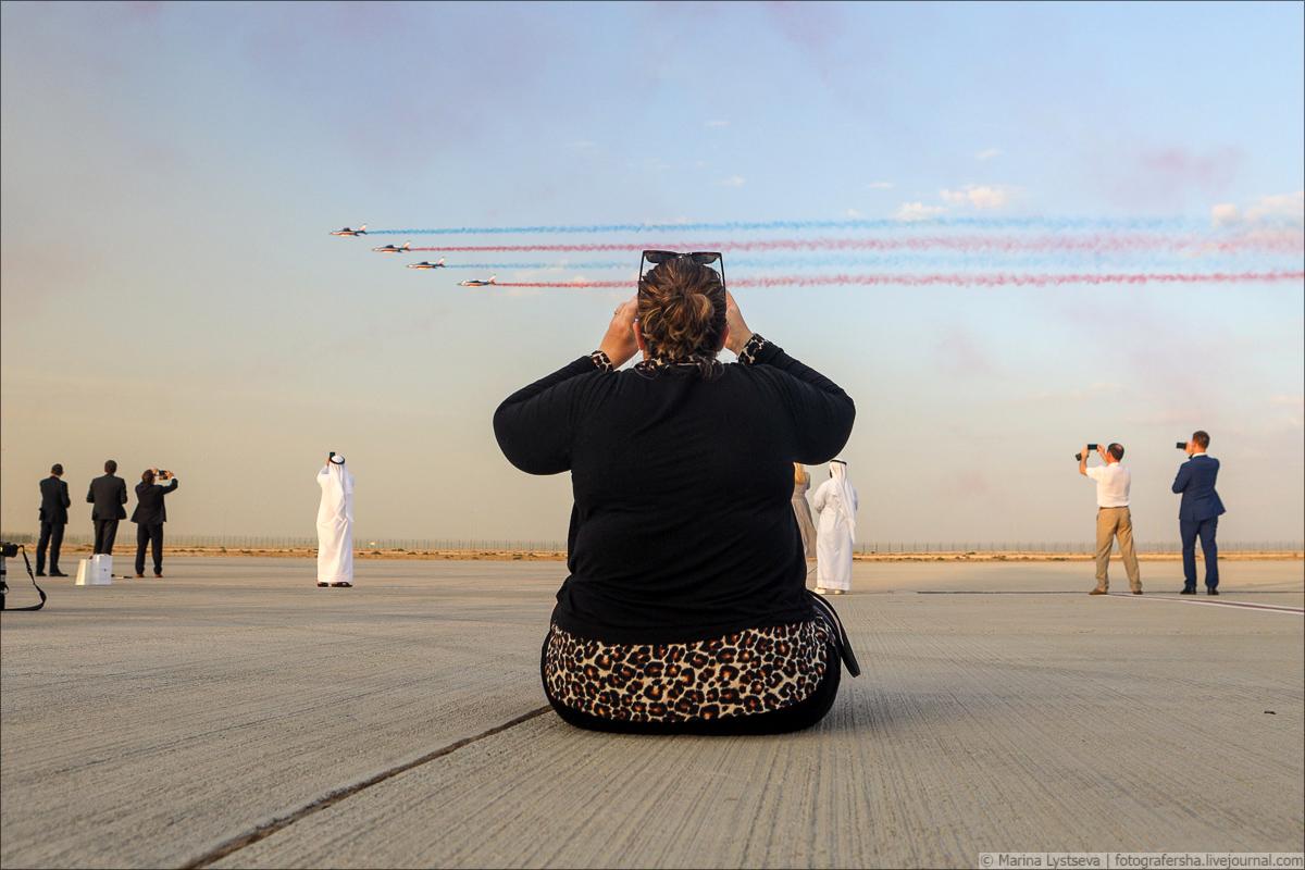 Продолжается авиашоу в Дубае