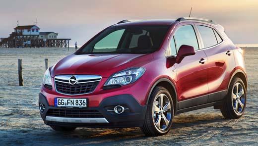 До России добрался дизельный Opel Mokka