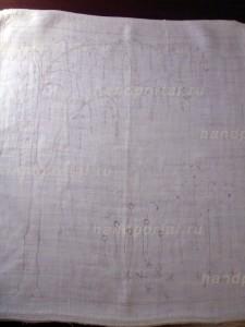 Вышивка лентами картины «Золотой дождь» (часть 1)