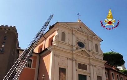 В Риме обрушилась крыша церкви XVII века