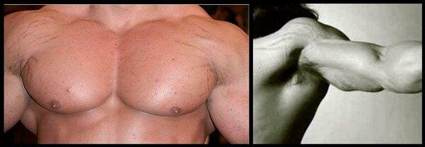 Растяжки при наборе мышечной массы