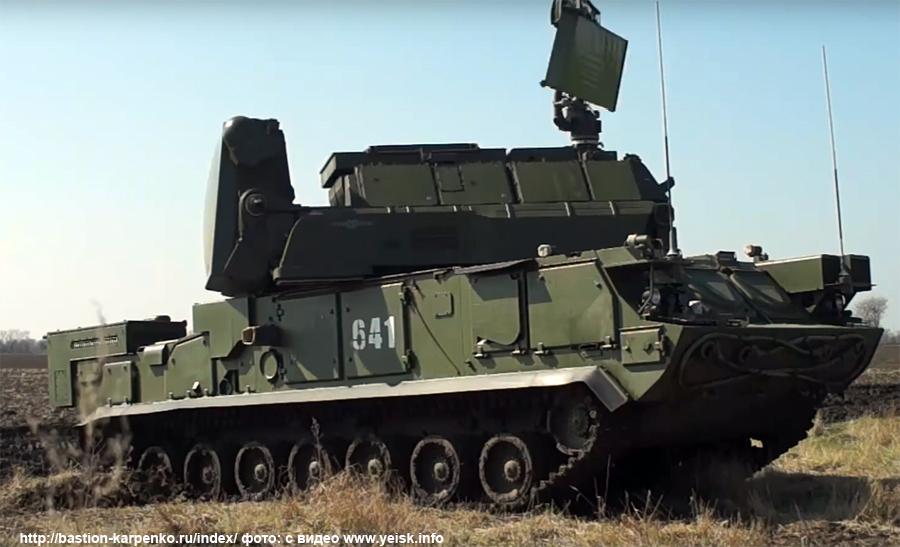 """Зенитный ракетный полк 150-й мотострелковой дивизии вооружен зенитными ракетными системами """"Тор-М2"""""""