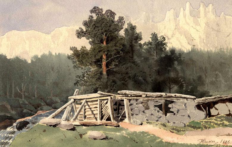 Рисование в семье Александра III