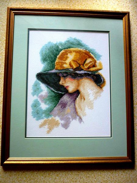 *Дама в шляпе*