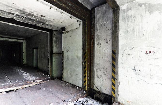 Аэродромное хранилище ядерных зарядов