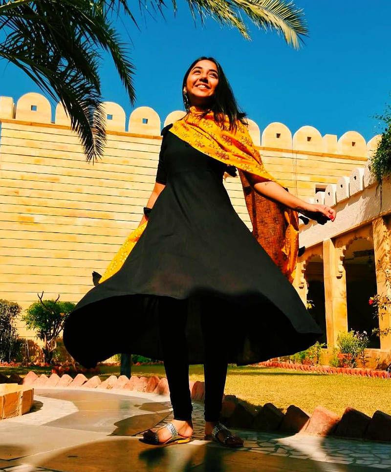 Красивые платья в индийском стиле — достойные богинь, фото № 22
